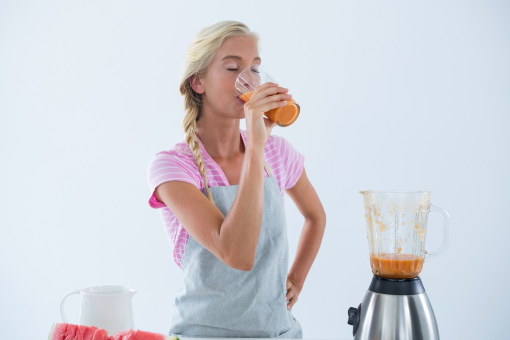 Smoothies can be filled with empty calories when you want to lose weight