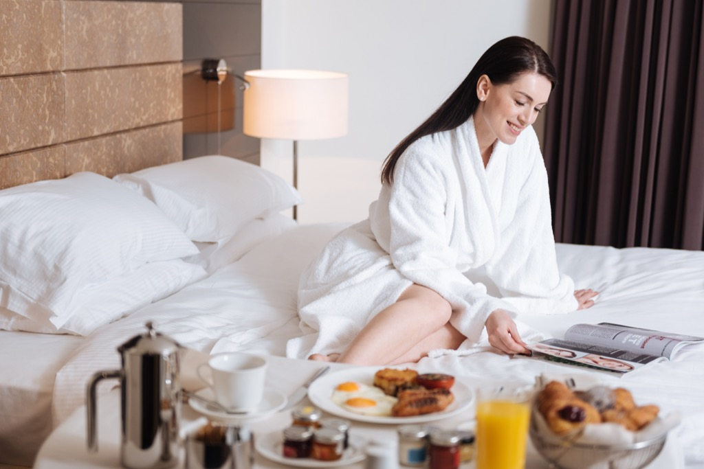 becoming a frequent hotel guest pays off in freebies
