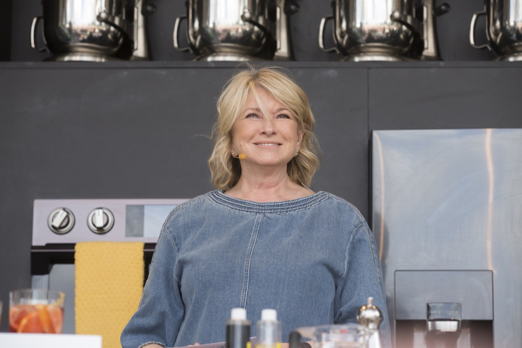 Martha Stewart became famous after 40, celebrity grandparents