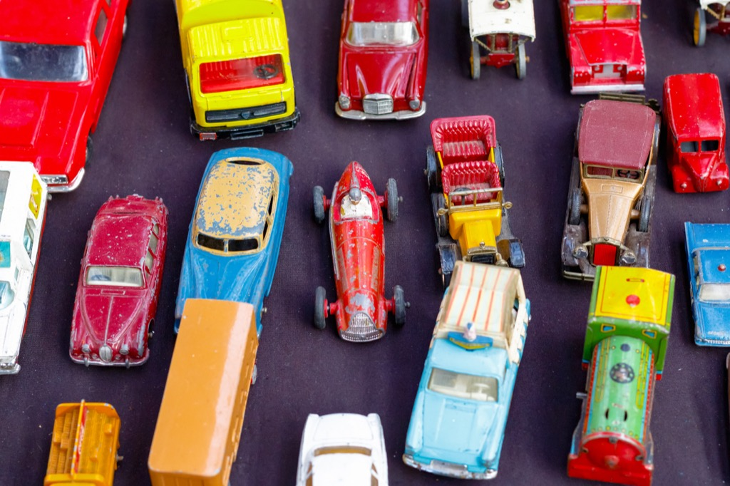 being a collector as a hobby can lead to clutter
