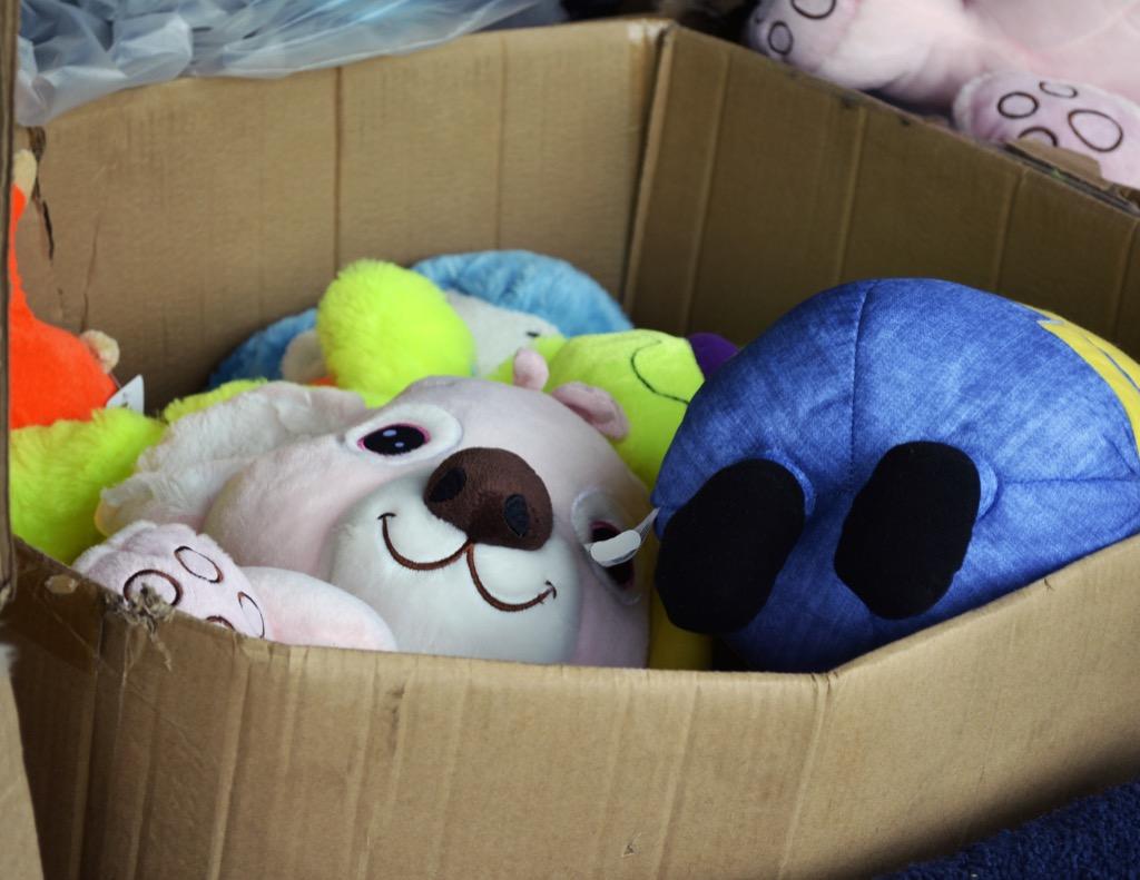 Box of stuffed animals housekeeper secrets
