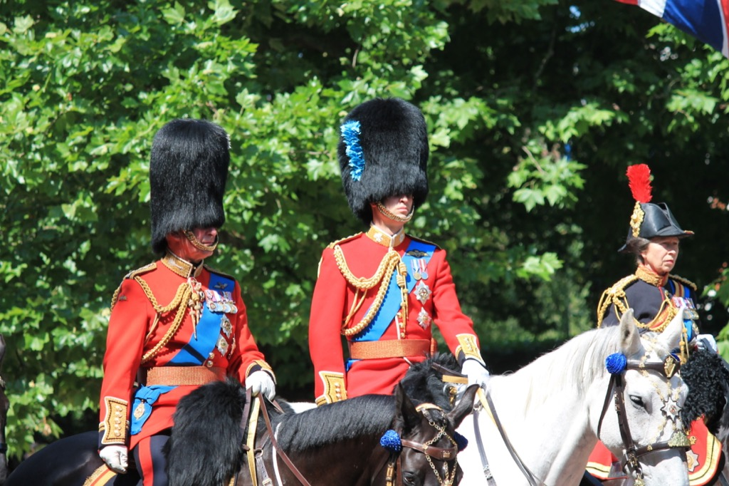 men in the royal family respect military uniforms