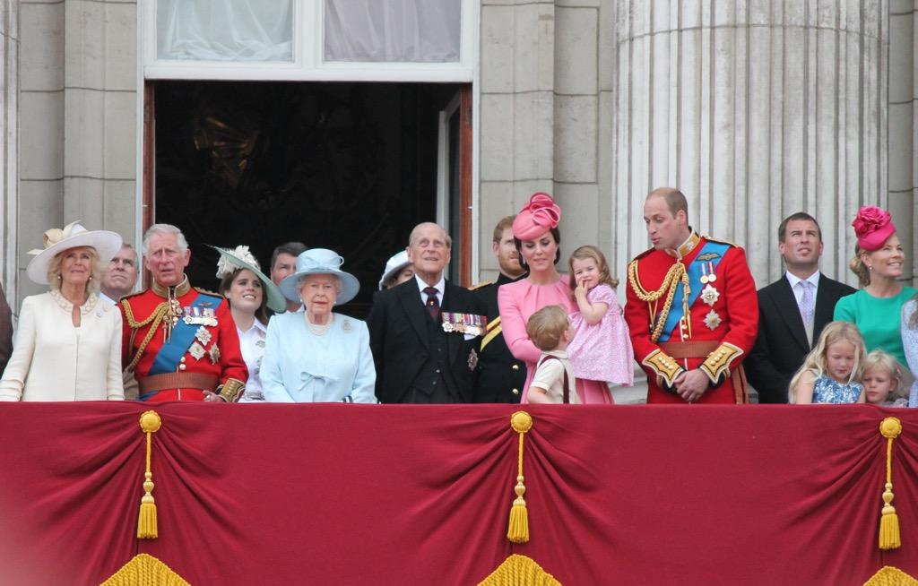 Princess Charlotte wears cute little dresses