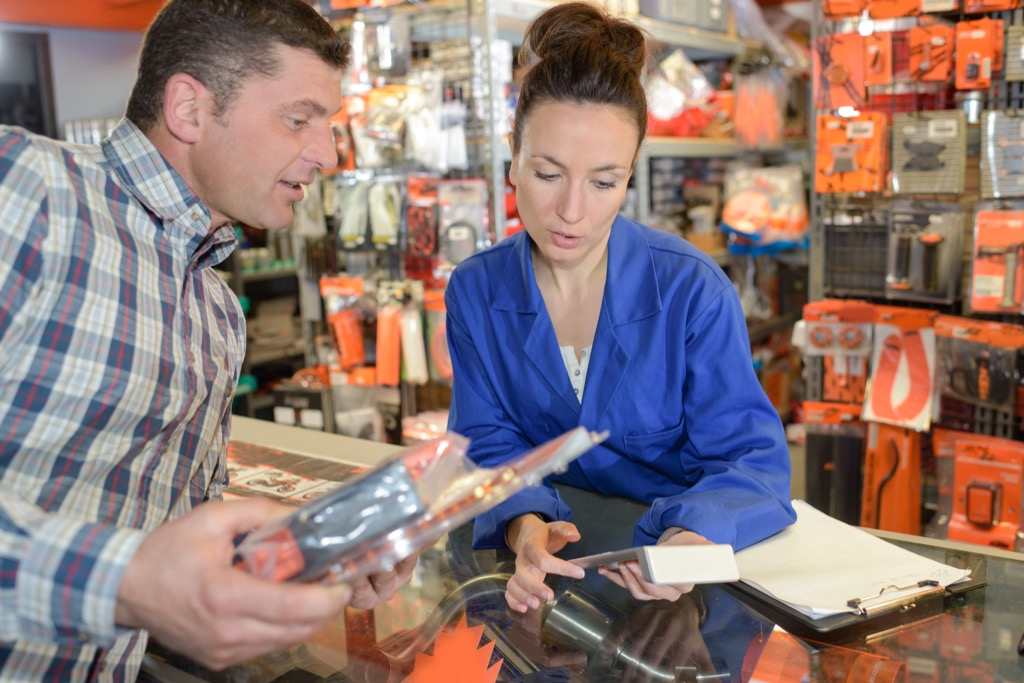 salespeople can use their discounts for you