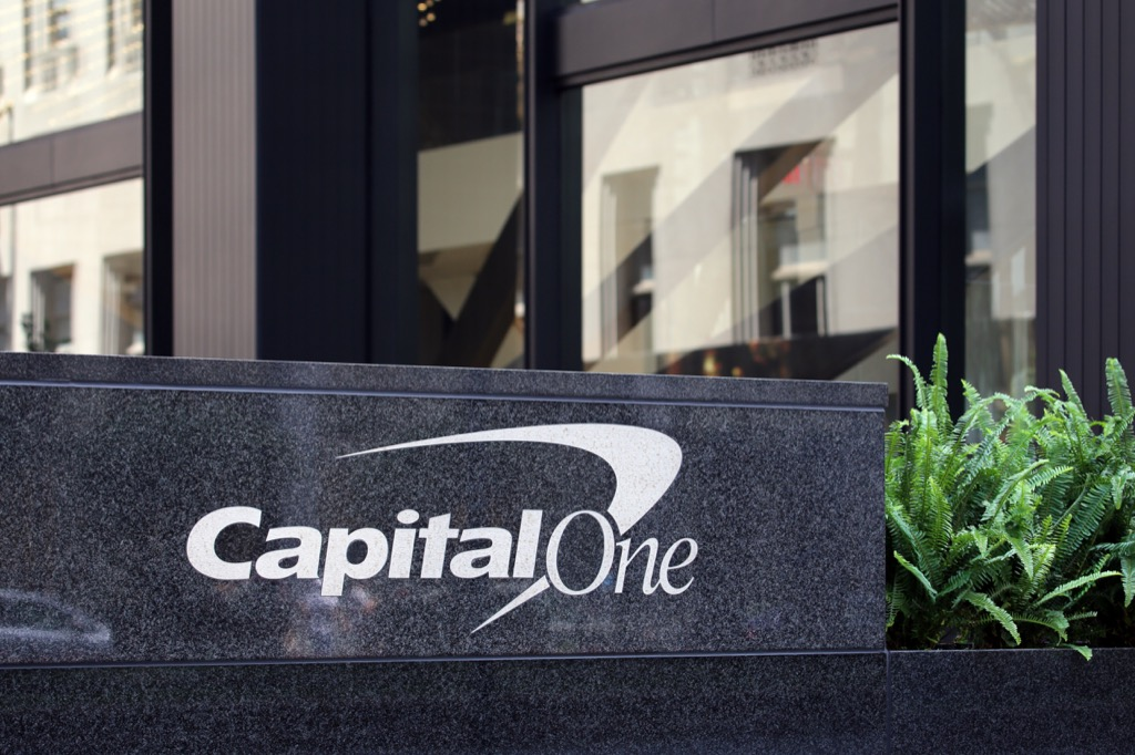 capital one is one of americas most admired companies