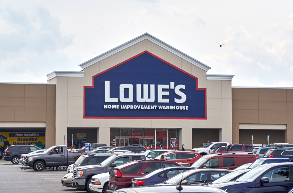 Lowe's is one of americas most admired companies