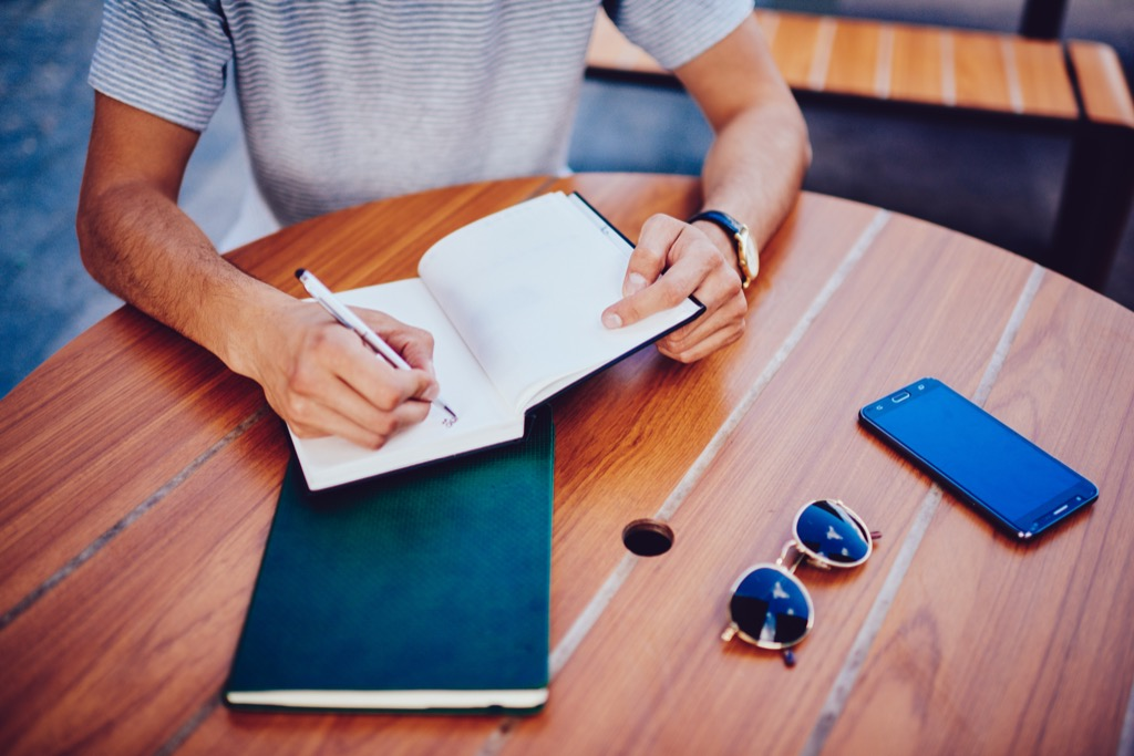 planning your daily routine can increase productivity