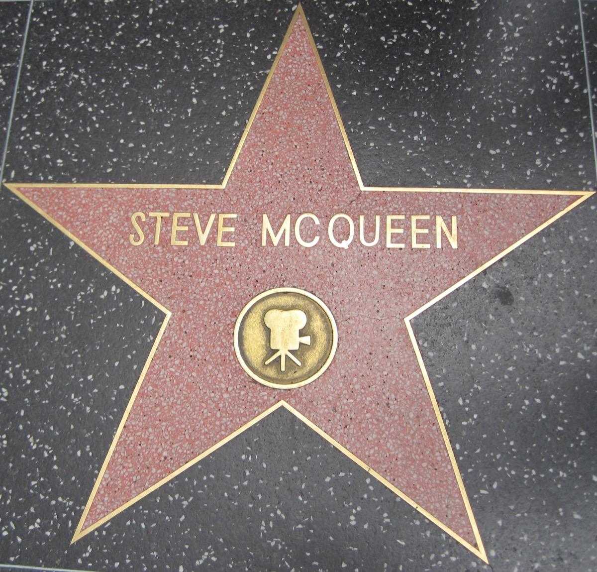 steve mcqueen hollywood star