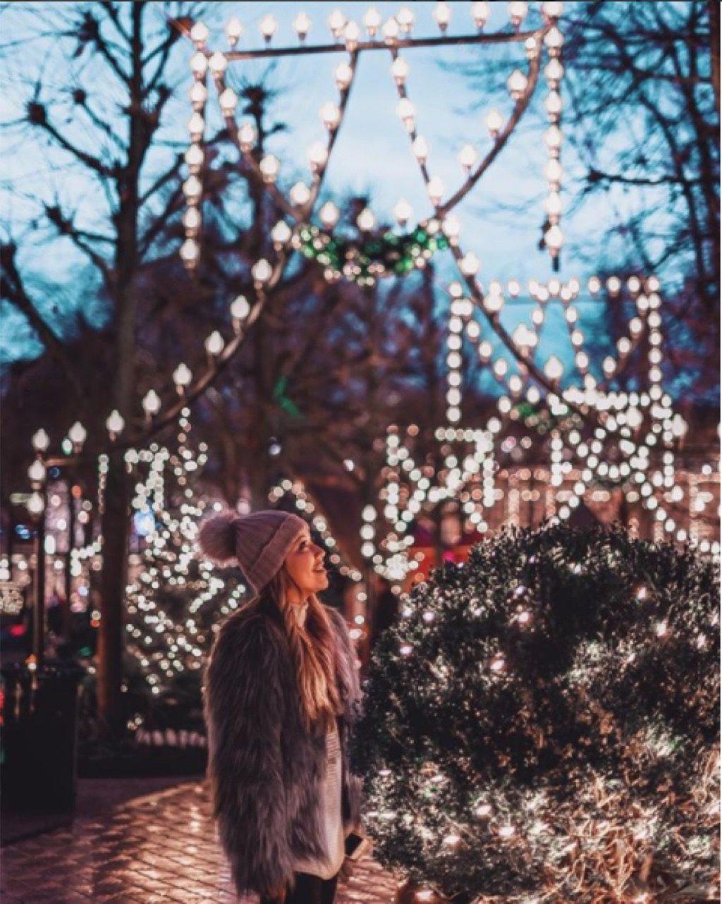 christmas tree in tivoli