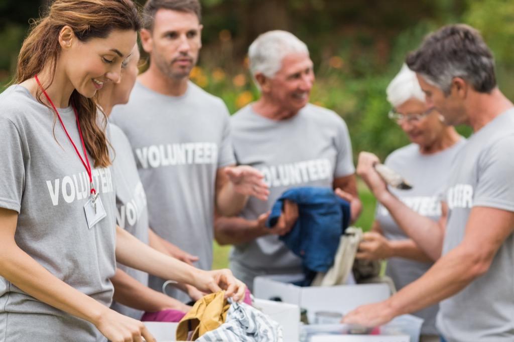 people volunteering volunteer, over 50 regrets