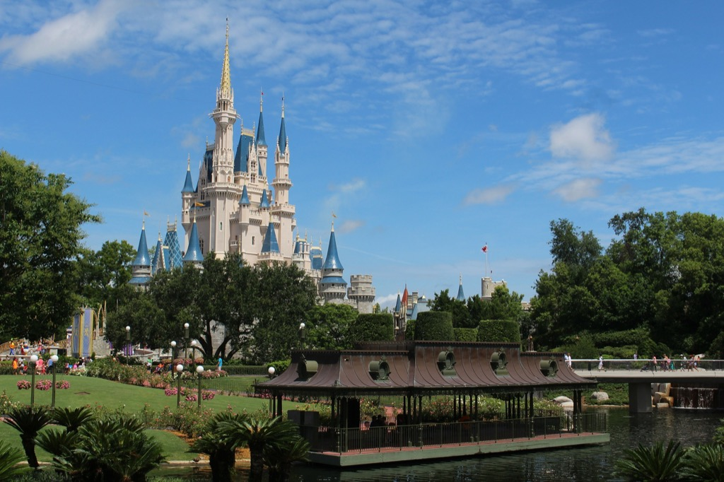 Disney World how much it costs to visit theme parks