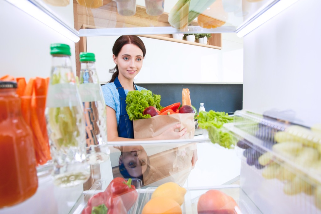 stocking your fridge with veggies is one of the best health upgrades