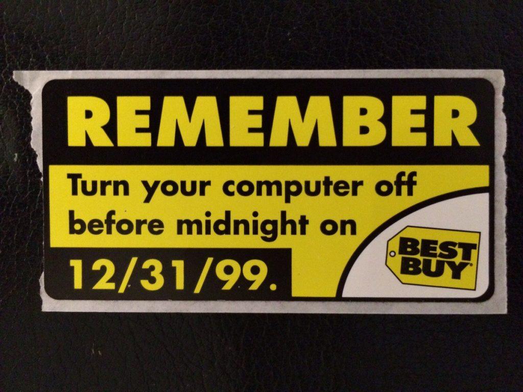 best buy y2k warning sign