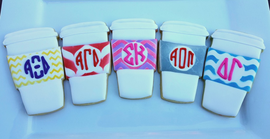 no woman over 40 should have sorority stuff in her apartment