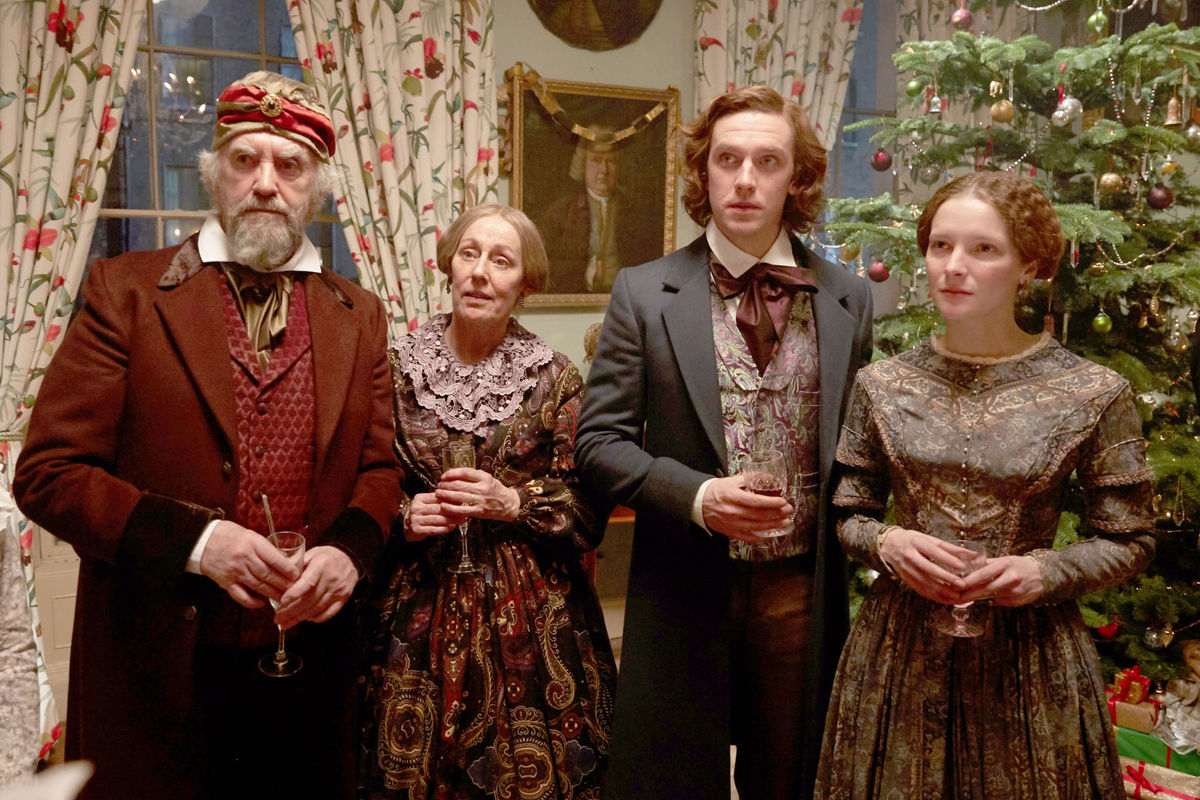 the man who invented christmas movie still