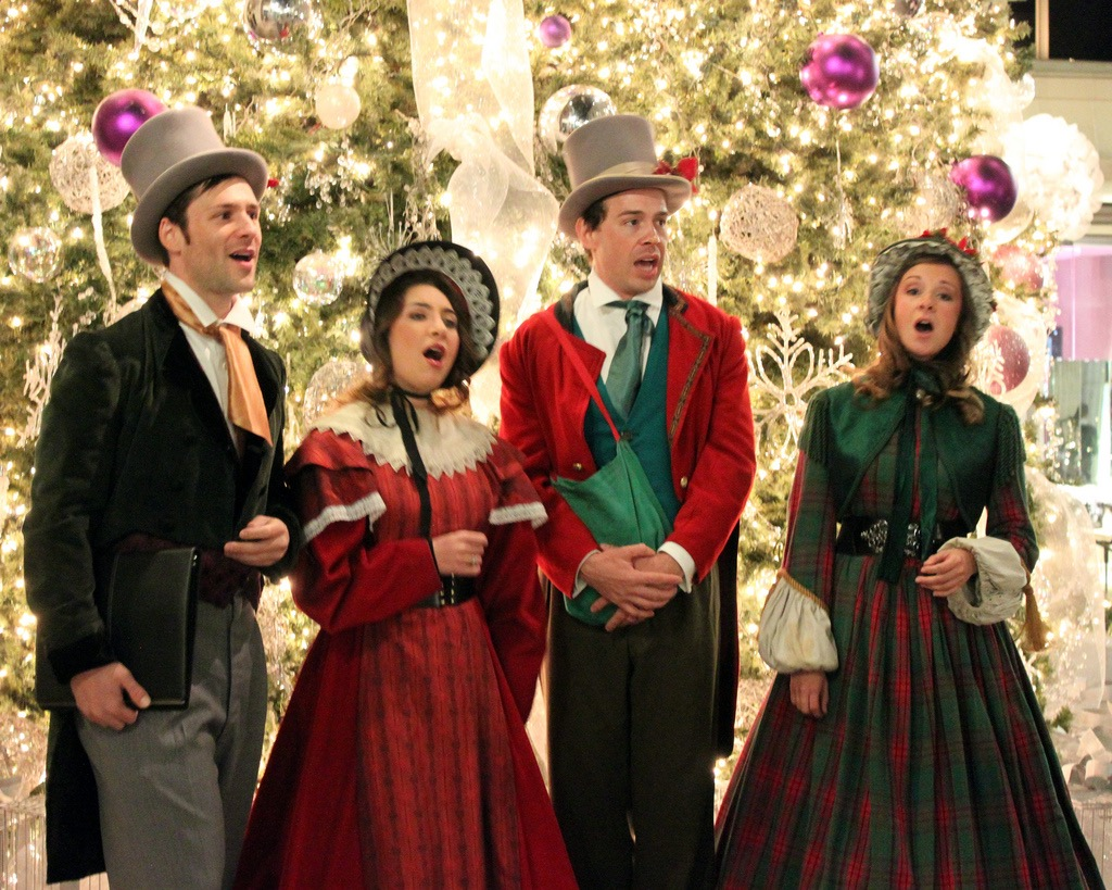 christmas carolers are a bad xmas tradition