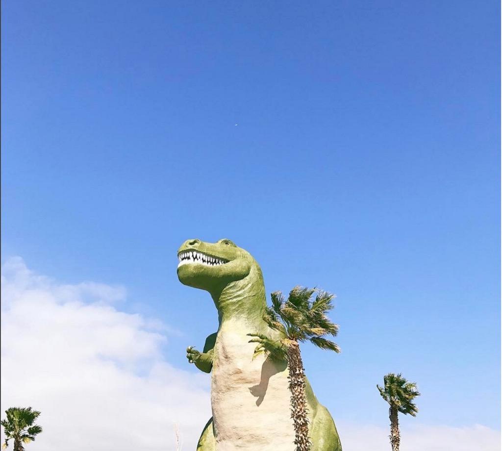 Cabazon California dinosaurs