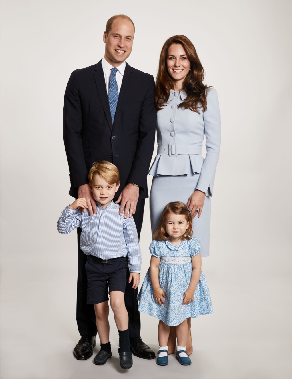 Princess Charlotte Prince George Harry and Meghan's Wedding