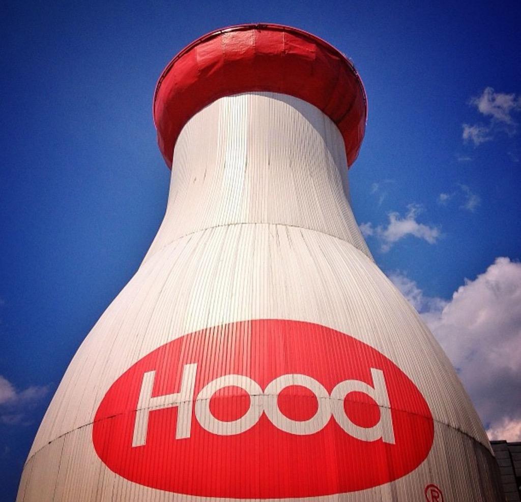 Hood milk bottle boston