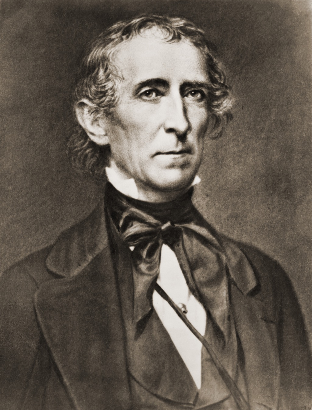 President John Tyler 1790-1862 succeeded William Harrison after his death from pneumonia. His landmark accomplishment the 1845 annexation of the Republic of Texas.
