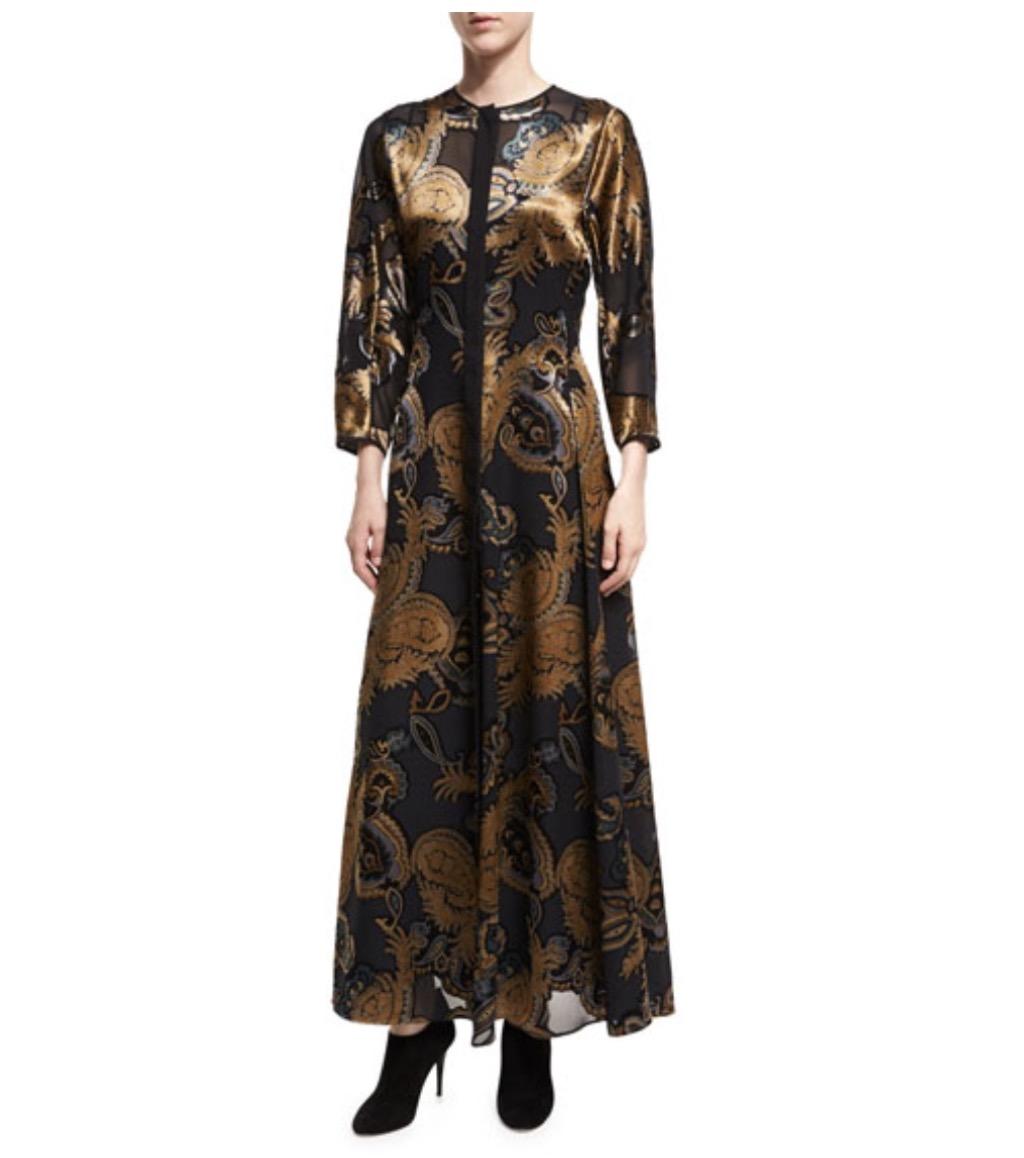 Lafayette paisley dress