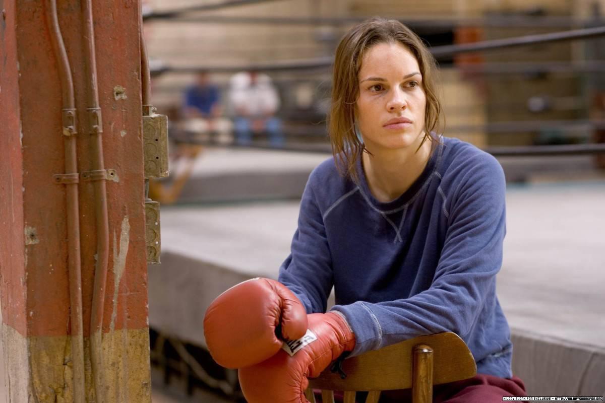 hilary swank boxing in Million Dollar Baby