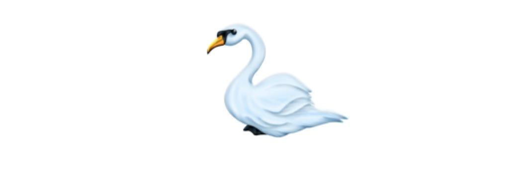 swan emoji