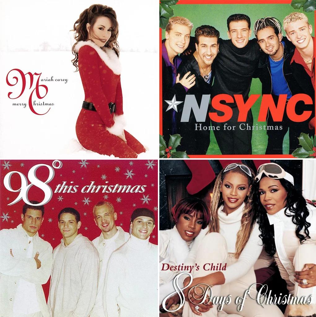 christmas albums 90s