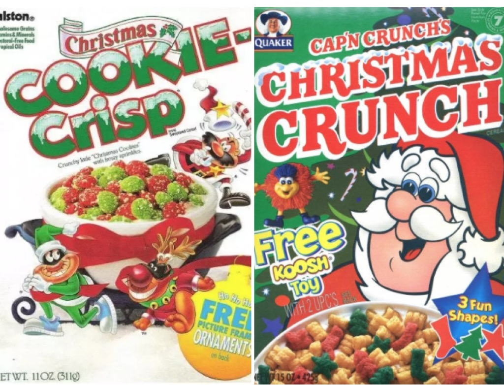 christmas cereal 1990s