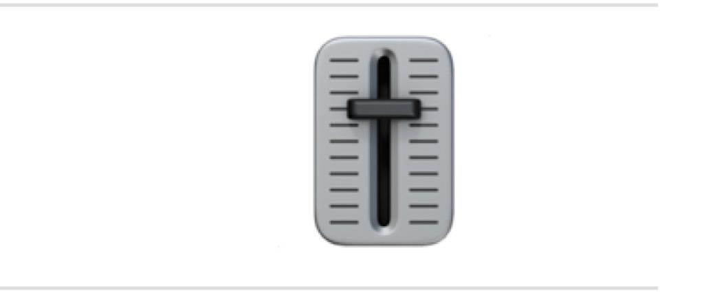 level slider emoji