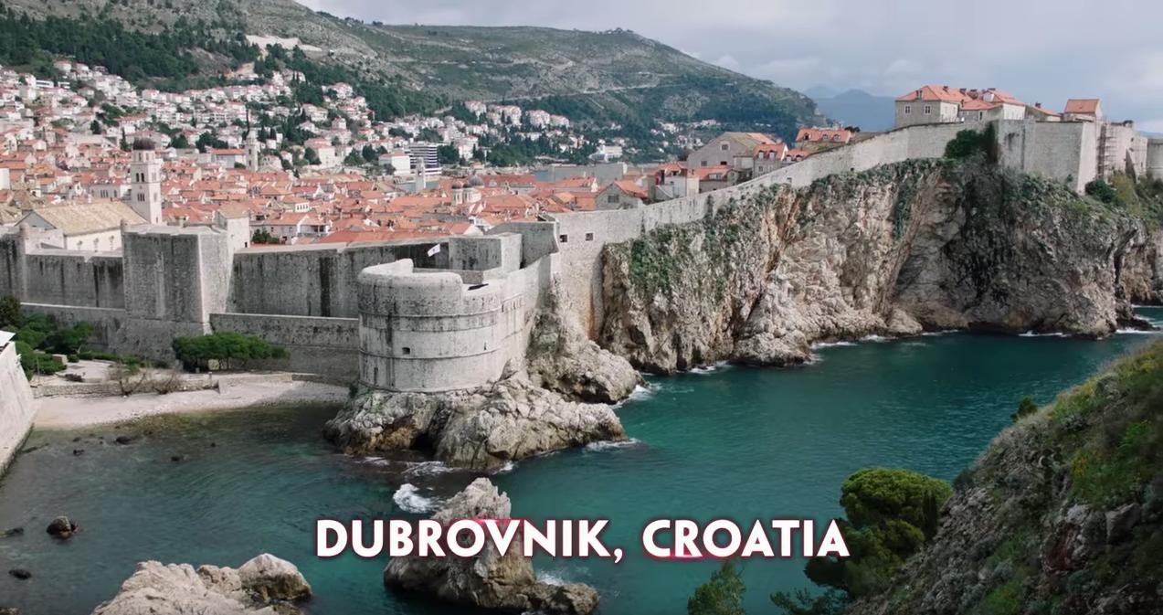 dubrovnik, croatia in star wars