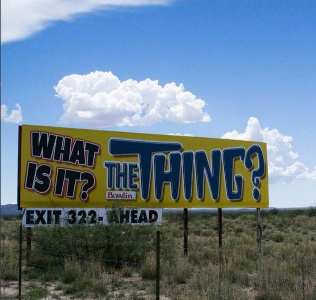The thing roadside attraction