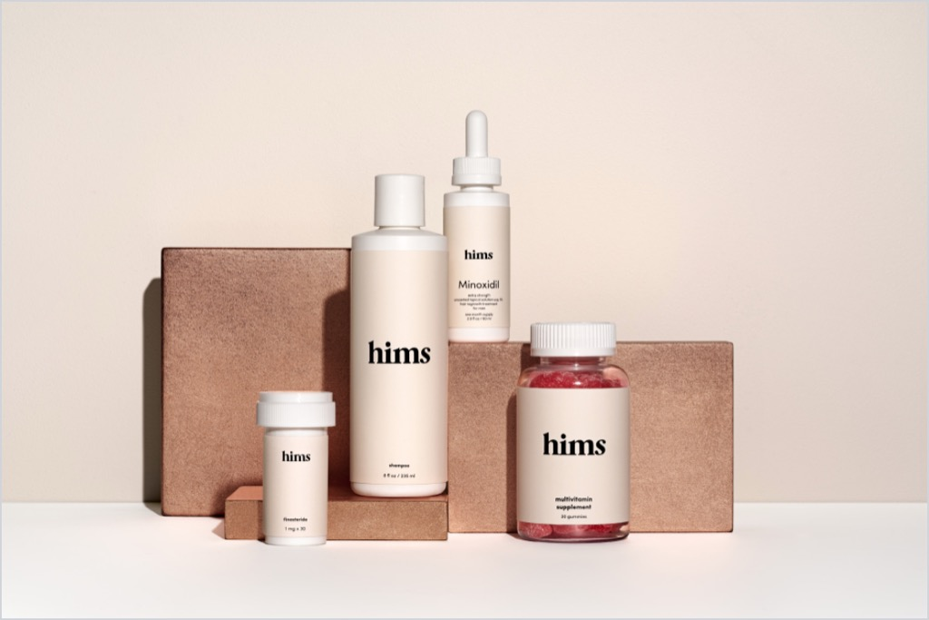 Hims complete hair kit