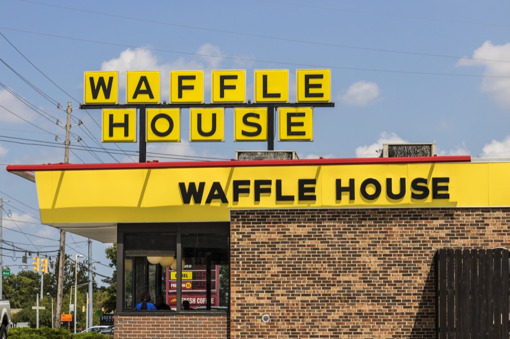 Waffle House exterior awesome facts