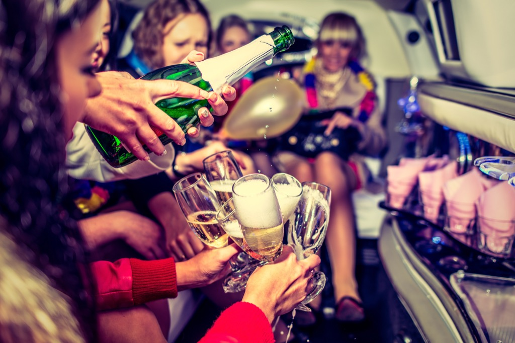 bachelorette party words royals never say
