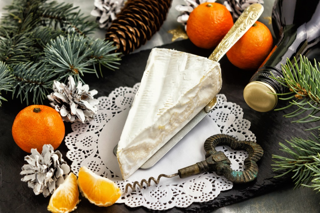 brie healthiest holiday finger foods