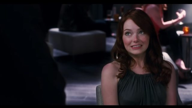 Emma Stone on a bad date