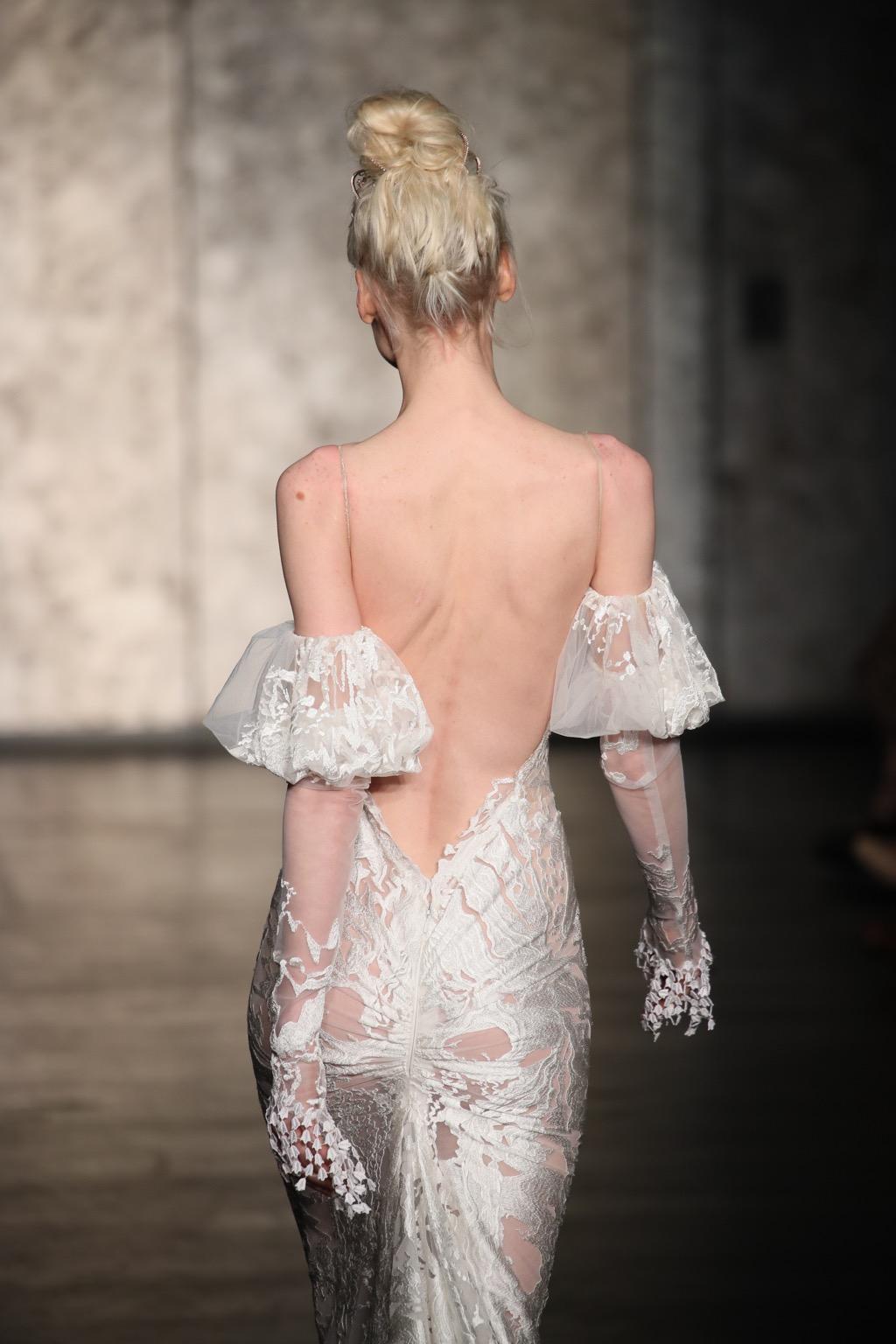Wedding dress by Dror