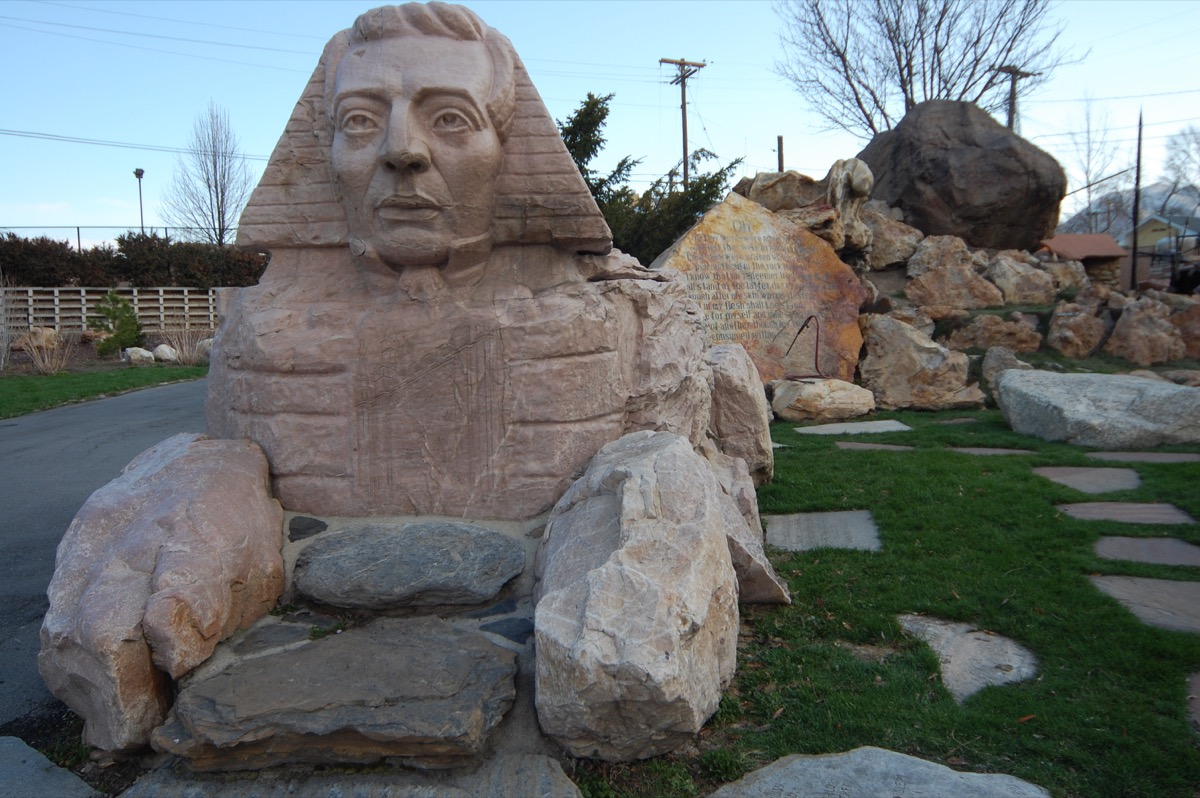 joseph smith sphinx statue