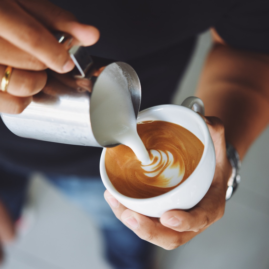 Artist Making a Latte Most Expensive Things on the Planet