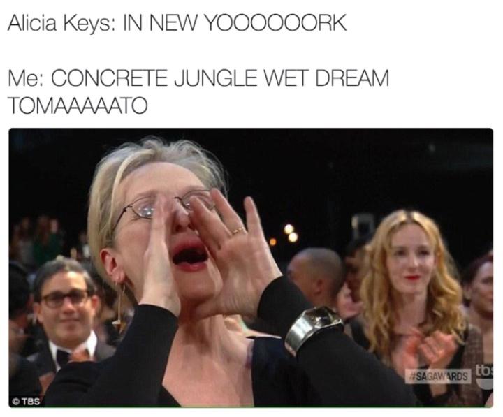 meryl streep singing meme biggest memes of 2017