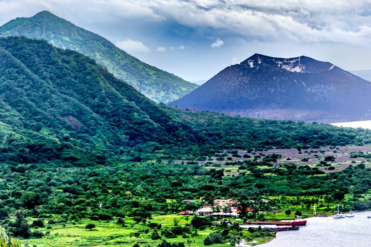 landscape of papua new guinea
