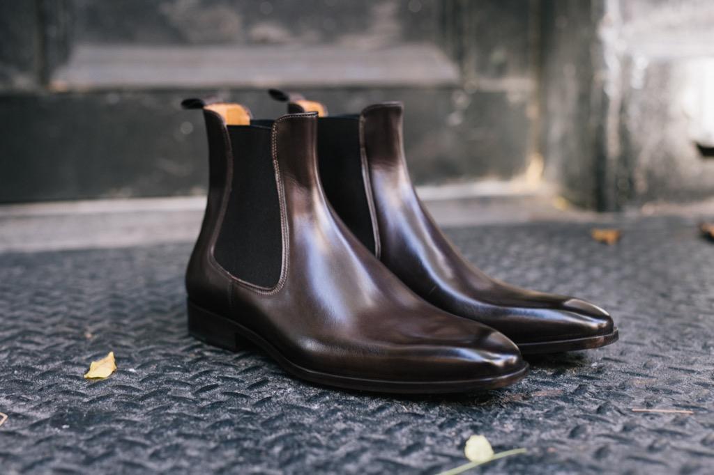 Paul Evans chelsea boots
