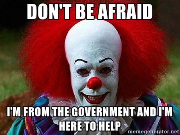 pennywise the clown best memes of 2017