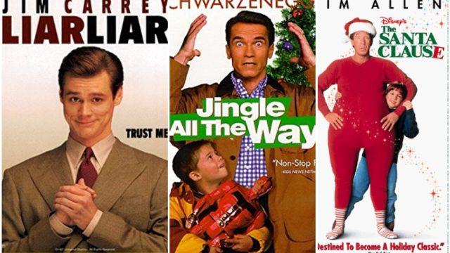 Liar Liar, Jingle All the Way, the Santa Claus