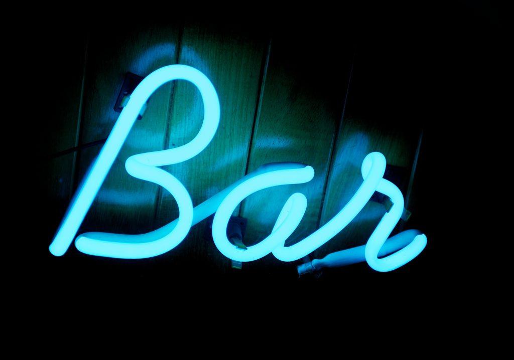 neon bar sign men over 40 home