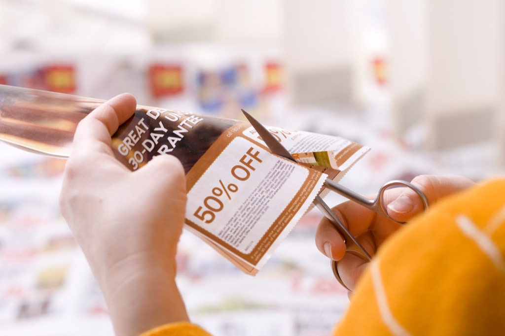 Cutting Coupons Grocery Shopping Mistakes