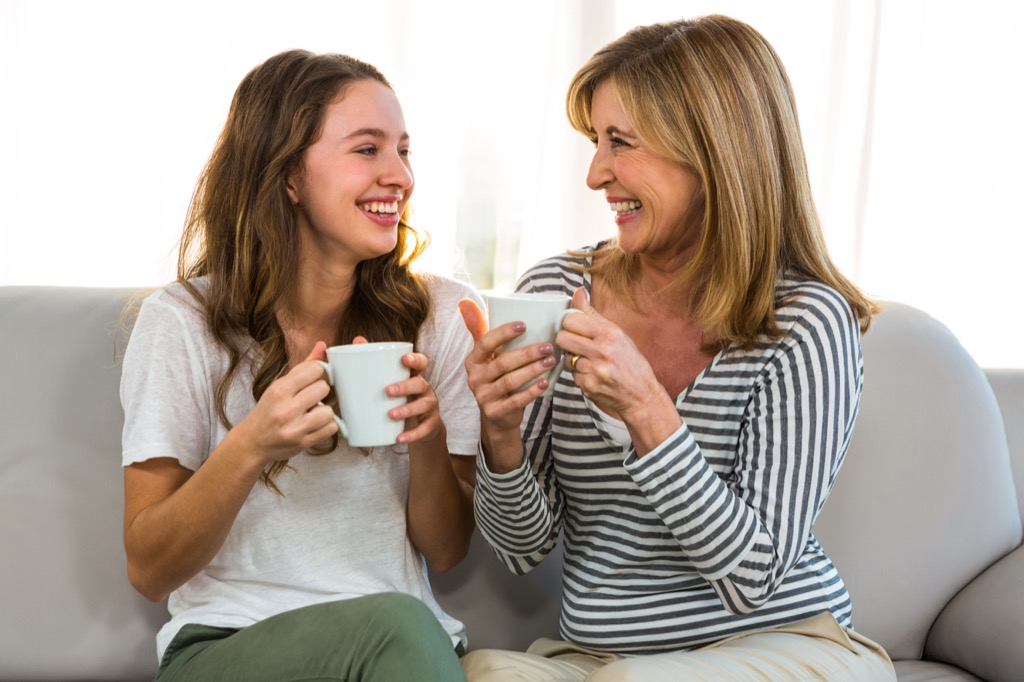 Mother and Teen Daughter Parenting