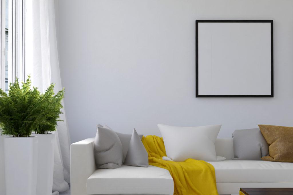 throw on living room sofa, home upgrades