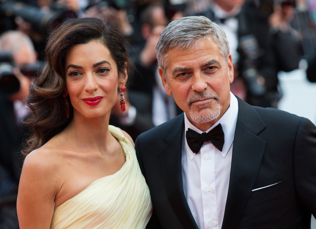 george and amal clooney relationships with big age difference